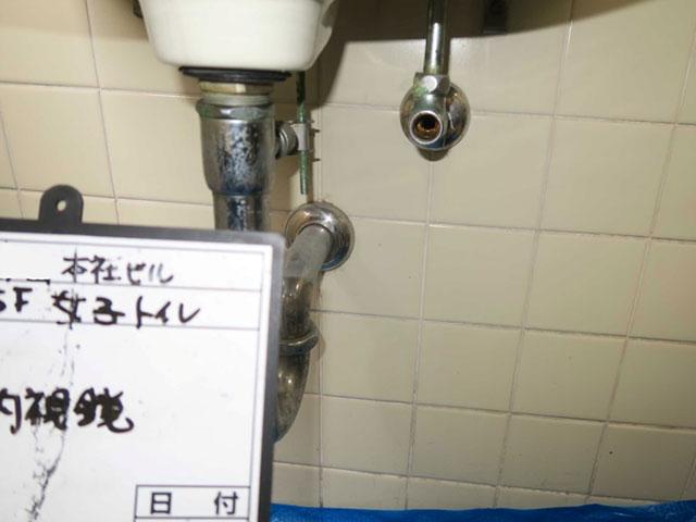水栓器具取り外し