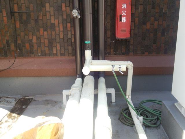 水栓の復旧