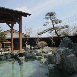リゾートホテル 露天風呂改修工事