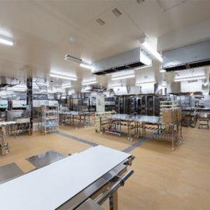 スーパーマーケット配送センター内装工事